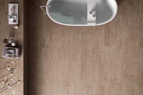 carrelage effet parquet salle de bain