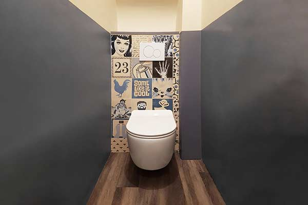 carrelage portugais azulejos wc