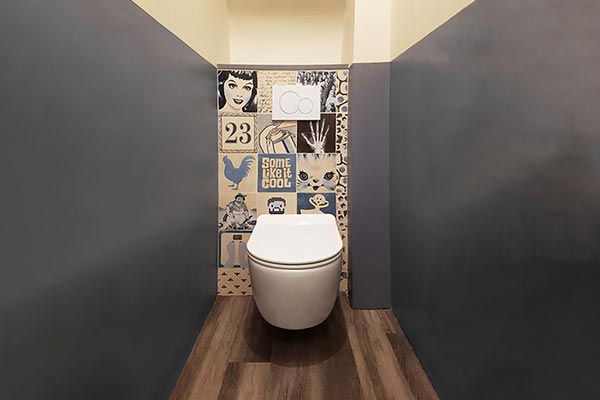 carrelage wc toilettes