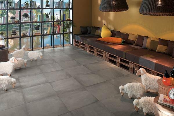 carreaux terre cuite salon