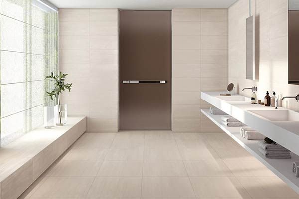 carrelage blanc salle de bain