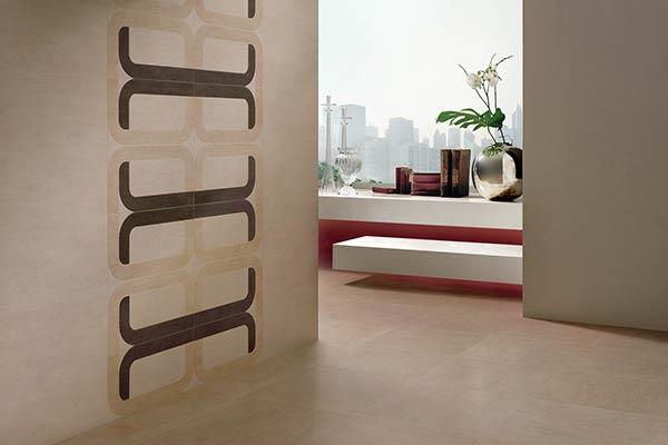 carrelage couleur sable design