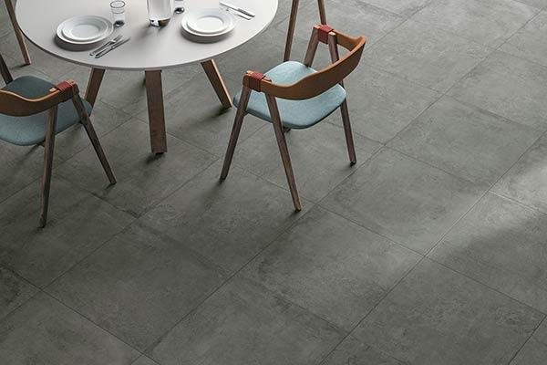 céramique gris foncé imitation pierre